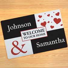 Create Your Own Welcome To Our Home Door Mat