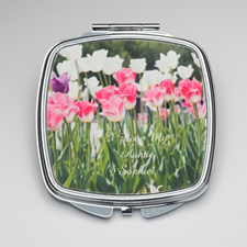 Personalized Photography Compact Make Up Mirror