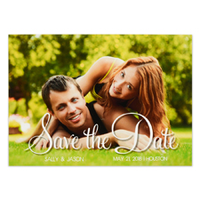 Encircled Love Personalized Save the Date