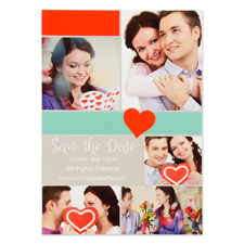 Old World Romance Personalized Save the Date