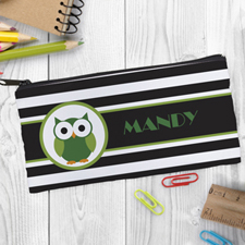 Design Your Own Owl Boy Pencil Case