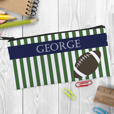 Design Your Own Football Pencil Case