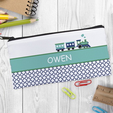 Design Your Own Train Pencil Case