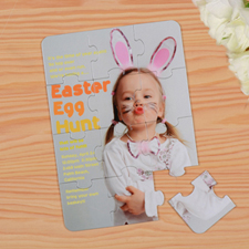 Personalized Easter Puzzle Invite