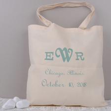 Personalized Welcome Bag Tote Bag
