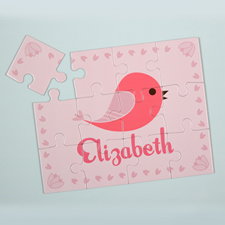 Bird Personalized Kids Puzzle
