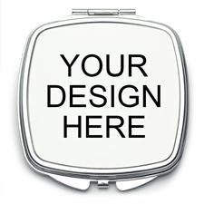 Custom Imprint Square Mirror