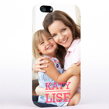 Personalized Photo And Name iPhone 5/5S Slim Case