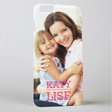 Personalized Printed Photo And Name iPhone 6+ Case Case Cover
