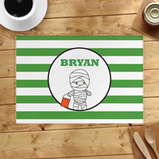 Personalized Mummy's Placemats