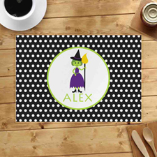 Personalized Witch Placemats