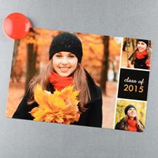 Grad Celebration Personalized 4x6 Large Photo Magnet