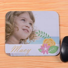 Create Your Own Flowers Mouse Pad