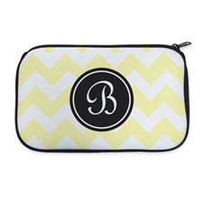 Personalized Neoprene Classic Chevron Cosmetic Bag (6 X 10 Inch)