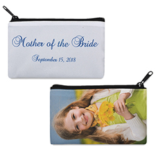 Personalized Mother Of The Bride Cosmetic Bag (4