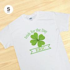 Irish for the Day, White T-Shirt
