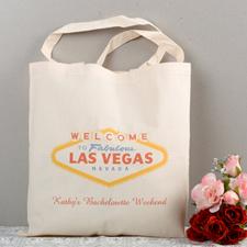 Las Vegas Wedding Personalized Tote Bag