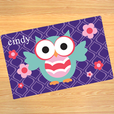 Create Your Own Owl Door Mat