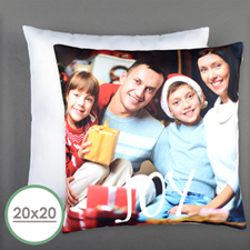 Joy Personalized Pillow 20 Inch  Cushion (No Insert)