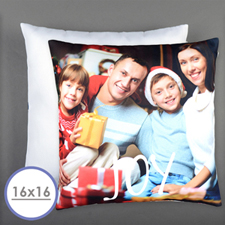 Joy Personalized Pillow 16 Inch  Cushion (No Insert)