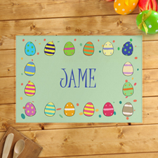 Personalized Boy's Easter Egg Placemats