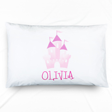 Castle Personalized Name Pillowcase For Kids