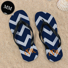 Chevron Beach Sandals, Men Medium