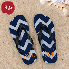 Chevron Beach Sandals, Women Medium
