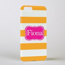 Mandarin Stripe Phone Case, iPhone 6
