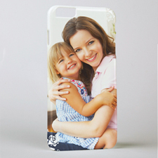 Floral Personalized Photo iPhone 6+ Case