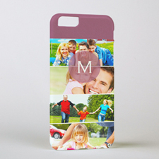 Four Collage Initial Personalized Photo iPhone 6 Case