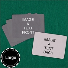 Large Size Landscape Custom Cards (Blank Cards)