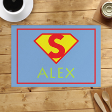 Super Hero Girl Personalized Placemat