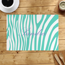 Aqua Skin Personalized Placemat