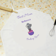 Best Mom Personalized Adult Apron