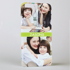 Lime Two Collage Personalized iPhone 6+ Mobile Case