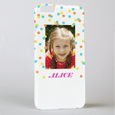Sunshine Dots Personalized Phone Case, iPhone 6+