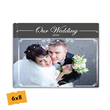 Create Your Hardcover Wedding Photo Book 6X8