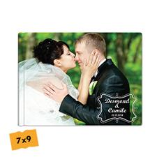 Create Your Hardcover Wedding Photo Book 7X9