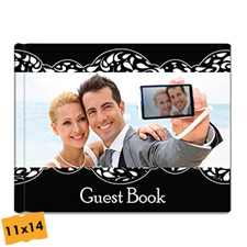 Personalized Wedding Hardcover Photo Book 11X14