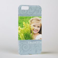 Damask Personalized Photo iPhone 6 Case