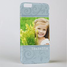 Damask Personalized Photo iPhone 6+ Mobile Case