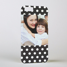 Black Dot Personalized iPhone 6 Case