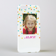 Sunshine Dots Personalized iPhone 6 Case