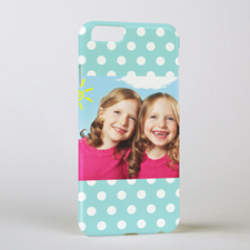 Ocean Polka Personalized iPhone 6 Case