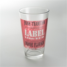 Custom Full Color Imprint Drinking Glass