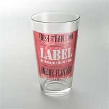 Custom Full Color Imprint Drinking Glass
