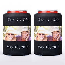Big Day Personalized Can Cooler
