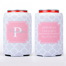 Grey Clover Personalized Can Cooler
