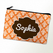 Mandarin Vintage Personalized Cosmetic Bag